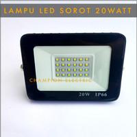 Hemat Bergaransi Lampu LED sorot 20W Lampu tembak 20Watt 20 W outdoor