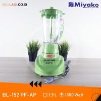Miyako Blender Plastic BL 152PF/AP / Bl 152 PF/AP - [3in1] - Hijau