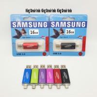 Flashdisk Samsung OTG 16GB 16 GB Micro USB Flashdrive Original OEM