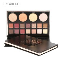 FOCALLURE Shimmer Eyeshadow & Face Palette FA47