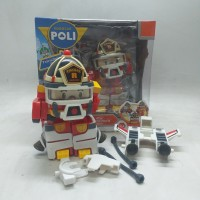 MAINAN ANAK ROBOCAR POLI ROY FIRE TRUCK