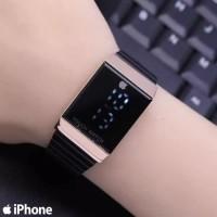 Jam Tangan Iphone Touch Layar Sentuh Persegi