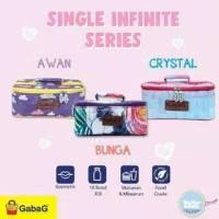 Cooler Bag Gabag Tas Asi Single Infinite Awan Crystal Bunga Coolerbag