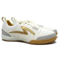 Sepatu Futsal Specs Metasala Nativ IN Marshmellow/Gold