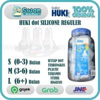 Huki Nipple Dot Silicone Reguler / Dot Nipple Silikon Semua ukuran SML