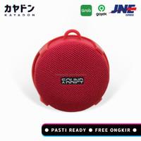 SOUND ADDICT Bicycle Speaker Bluetooth Waterproof IPX7 Speaker Sepeda - Merah