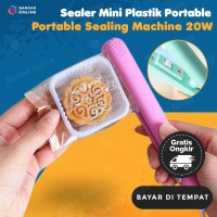 Hand Mini Sealer Plastik Portable Sealing Machine 20 W