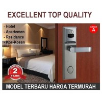 Baru Pintu Kunci Door lock Grade A, untuk Hotel, Rumah Kontrakan RFID