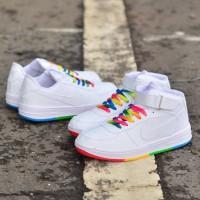 Nike Air Force Rainbow Sepatu Wanita Sneakers Women Hits Viral Terkini