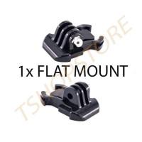 Flat Mount Adapter Action Cam ( XiaoMi Yi / Brica / GoPro / SJCam )