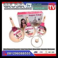 Panci Superpan Bolde - Super Pan Seperti Oxone Supra Cookware Set