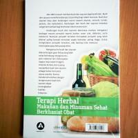 Paling Laris Buku Terapi Herbal Makanan Dan Minuman Sehat Berkhasiat
