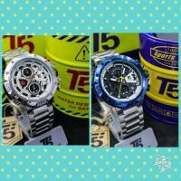 Jam Tangan Cowok T5 H3705 Ori Silver (4.6cm)