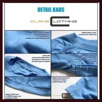 Termurah L Kaos Polos Oneck Cotton Combed 20S Tangan Panjang 24 Warna