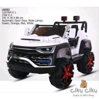 Mobil Mainan AKi Unikid UK692 Jeep mobil aki mainan anak