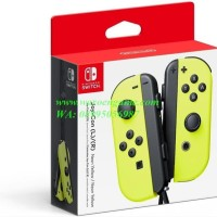 Baru Nintendo Switch Joy Con Left Right L R Neon Yellow L