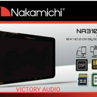 Head Unit Double Din Nakamichi Android 10 inch Built In DSP Proces
