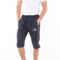 Jogger Pants 3 4 Celana Sontok Olahraga Pria Wanita Unisex A01