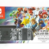 Nintendo Switch Super Smash Bros Ultimate Edition