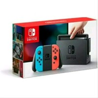Promo nintendo switch neon blue Red original