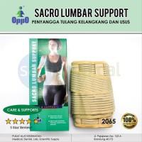 OPPO 2065 Sacro Lumbar Support Korset Tulang Belakang Size XXL