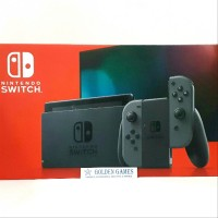Console New Nintendo Switch Gray with Longer Battery Life