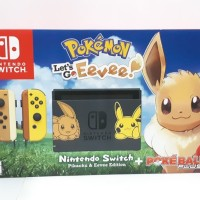 Nintendo Switch Bundle Pokemon Lets Go Eevee