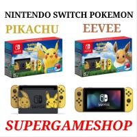 Promo Nintendo Switch Pokemon Lets Go Eevee Pokemon Lets Go Pik
