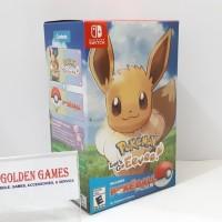 Nintendo Switch Pokemon Lets Go Eevee Bundle Poke Ball Plus
