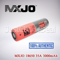 Authentic MXJO 35A 3000mAh Baterai Vape 18650 Oten Not LG HG2 VTC AWT
