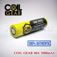 Baterai 18650 Coil Gear 40A 3000mAh Authentic Not KDEST