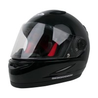 Helm Cargloss Racer SPOILER Helm Full Face - DEEP BLACK