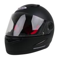 Helm Cargloss Racer SPOILER Helm Full Face - Black Doff
