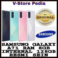 SAMSUNG GALAXY A71 8/128 RAM 8GB INTERNAL 128GB RESMI SEIN