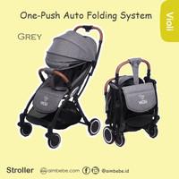 Violi Stroller One-Push Auto Folding System (Kereta Dorong Bayi Lipat)
