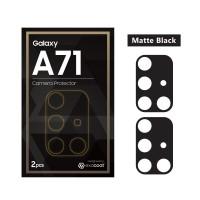Camera Protector Samsung Galaxy A71 Exacoat - Matte Black (2pcs)