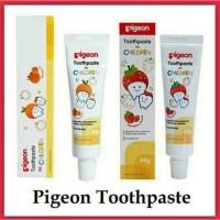 Pigeon Toothpaste 45 gr / Pasta Gigi / Odol Anak Strawberry Orange
