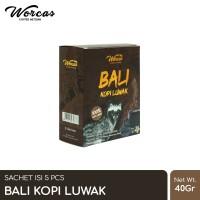 WORCAS Bali Kopi Luwak Sachet (5pcs)