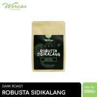 WORCAS Kopi Robusta Sidikalang 200gr - Medium Dark Roast