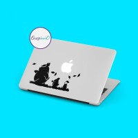 Decal Sticker Macbook Stiker Anime My Neighbor Totoro Laptop