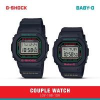 Casio G-Shock Baby-G Jam Tangan Couple LOV-19B-1DR Digital