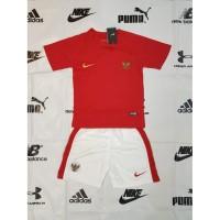 Jersey Kids Baju Setelan Futsal kaos Bola Anak Nike Indonesia Home