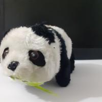 Mainan Boneka Panda Baterai Kemasan Kantong