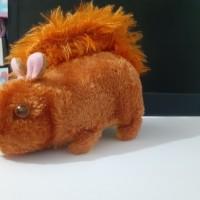 Mainan Tupai Baterai Kemasan Kantong