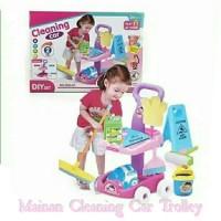 Mainan Anak Cleaning Car Trolley