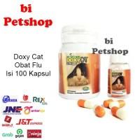 Doxy cat obat flu kucing 1botol isi 100 Im Organic Imo
