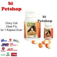 Doxy Cat ECER obat flu kucing im organic 1kapsul