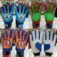 sarung tangan kiper goalkeeper gloves anak logo bola import