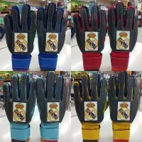 sarung tangan kiper goalkeeper gloves anak logo bola real madrid