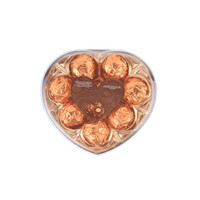 Cremona Hazelnut Cream Crisp Malt Chocolate Wafer Ball Heart T8